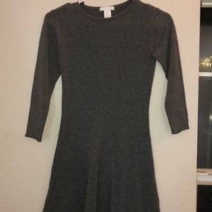 Gray H&M dress